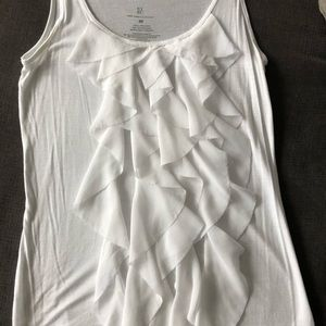 New York and Company sheer sleeveless blouse